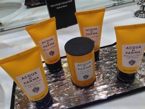 Hotel bath products
