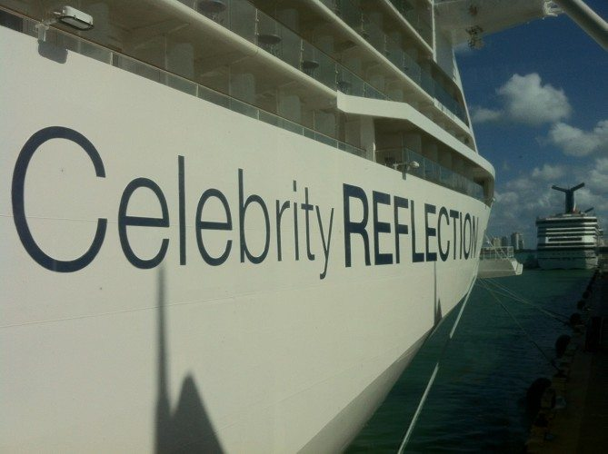 Celebrity Reflection - 001