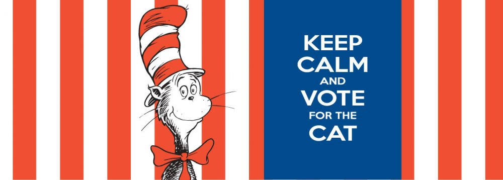 Seuss Cat Presidential Run