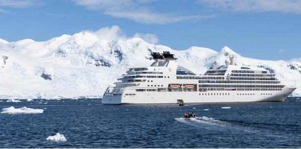 White Continent Cruising
