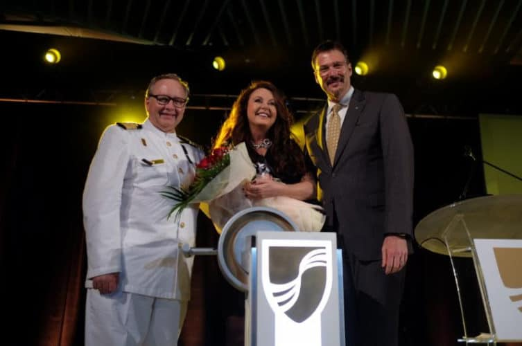 Seabourn Encore Launched