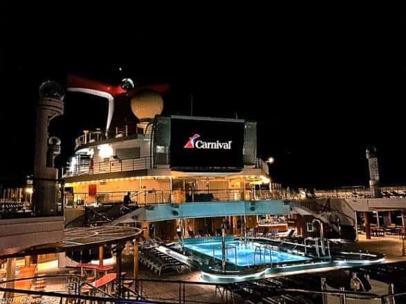 Carnival Paradise to Paradise