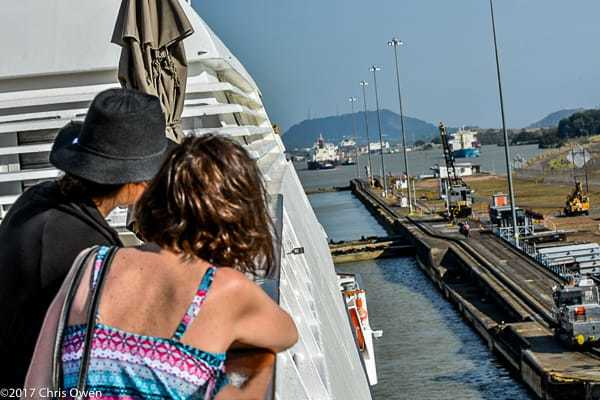 Windstar Cruises Panama Canal Experience